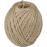 Generic 120 m Twisted Burlap Jute Twine Rope (Brown)