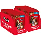 Drools Real Chicken and Liver Gravy Adult Dog Food (150 g) - Pack of 20