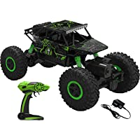 ARHA IINTERNATIONAL 1:18 Rechargeable 4Wd 2.4GHz Rock Crawler Off Road R/C Car Monster Truck Kids Toys | Remote Control…