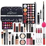 iBaste Make-up-Set Mit Lidschatten Lippenstift Concealer Kosmetik-Kit Für Frauen Mädchen   EIN Set Löst Vollgesichts-Make-up,