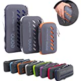 Eono by Amazon - Microfibre Towel, Perfect Sports & Travel & Beach Towel, Fast Drying - Super Absorbent - Ultra Compact…