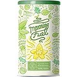 Morning Fuel | Miscela MATCHA alla VANIGLIA per colazione | Proteine di piselli germogliati, quinoa, chia, olio MCT, avena,