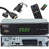 Opticum SBOX - Sat-Receiver HD - PVR opnamefunctie - Timeshift - Mediaspeler Full HD digitale ontvanger DVB-S/S2 - Astra & Ho