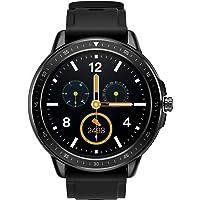 SANAG Smartwatch Damen, Smartwatch Wasserdicht IP67, HD-Touchscreen Sport Smartwatch (Schwarz)