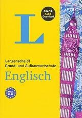 Langenscheidt Grund- und Aufbauwortschatz Englisch - Buch mit Bonus-Audiomaterial