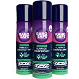 Raho Safe Multipurpose Surface Disinfectant Spray - 120 ml (Pack of 3)