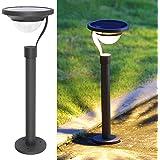 Twinkle Star 50 Lumens 42X Brighter Solar Path Lights Solar Garden Lights, Solar Landscape Lights Outdoor for Lawn Patio Yard