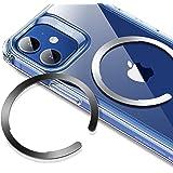 ESR Anneau Métallique Magsafe, Convertisseur pour Recharge sans Fil Magnétique, Anneau HaloLock Universal Compatible avec iPh
