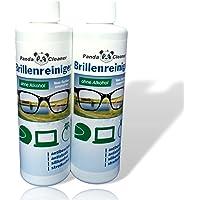 Panda Cleaner Nettoyant Lunettes® Kit de recharge 500 ml 2 x 250 ml Recharge – Sans alcool | antibeschlag | sans laisser…