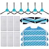 KEEPOW Kit Accesorios de Recambio para Cecotec Conga Excellence 1290/1390 Robot Aspiradora, Material Premium, Pack Familiar d