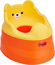 Amazon Brand - Solimo Baby Potty Training Seat, Orange