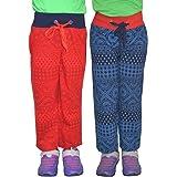 SHAUN Girls Cotton Pyjama Pack of 2