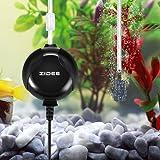 Focuspet Aquarium Luftpumpe, Leise Luftpumpe Für Aquarium Mini Luftpumpe Aquarium Oxygen Luftpumpe Für Aquarium mit Air Stone und Silikonschlauch Schwarz