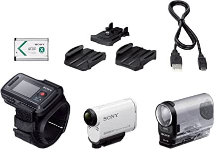Sony HDR-AS200VR Action Cam Stabilisée Full HD Wifi/NFC, 50Mb/s, Ralentis HD 240i/s