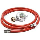 Silverline 633926 - Manguera para gas con conectores (2 m ...