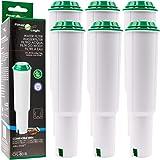 6x FilterLogic CFL-801B - Cartouche filtrante remplace JURA Claris WHITE 60209/68739 / 62911 pour machine automatique à café