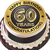 Surprising 7 5 60Th Birthday Cake Toppers Decorations For Men Women Funny Birthday Cards Online Kookostrdamsfinfo