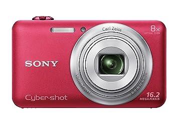 Sony Cybershot DSC WX80 R 162MP Digital Camera Red