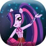 Dress up Midnight Sparkle pony