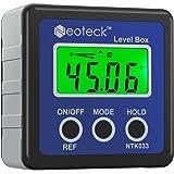 Neoteck Bevel Box Digitale LCD-gradenboog, hellingsmeter, inclinometer, waterdicht, hoekmeter, waterpas, blauw