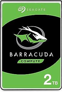 """Seagate BarraCuda, Unità Disco Interna da 2 TB, Unità SATA da 6 Gbit/s, 2,5"""", 5.400 giri/min, Cache da 128 MB per PC Desktop e PC Portatili (ST2000LM015)"""