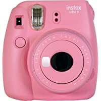 Fujifilm instax Mini 9 camera, blush rose