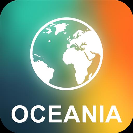 Ozeanien Offline Karte