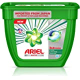 Ariel Matic 3in1 PODs Liquid Detergent Pack 32 Count for Both Front Load and Top Load Washing Machines (32N*19.85g)