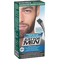 Just For Men Moustache & Beard Brush-In Colour Gel Dark Brown Black M-45