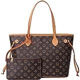 LucaSng Handtasche Damen Shopper Schultertasche Umhängetasche Damen Geldbörse Tragetasche Groß Damen Tasche Tote für Büro Sch