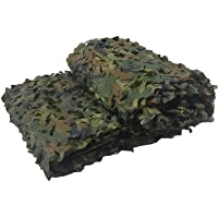GASSNAKE Camouflage 150D Filet pour Parasol Chasse Outdoor Army Camo Camouflage 7 Couleurs (Taille Customize)
