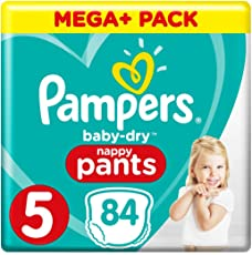 Pampers Baby Dry Pants Gr.5 Junior 12-17kg Mega Plus Pack