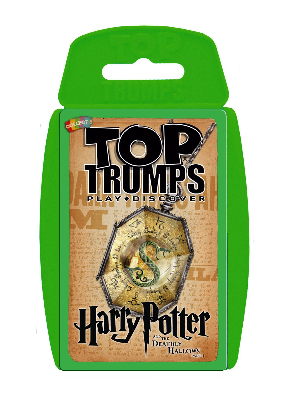 Top Trumps de Harry Potter.