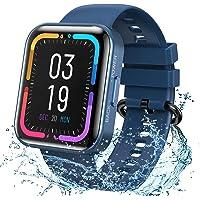 KOSPET Smartwatch, Fitness Tracker Armbanduhr mit Blutdruckmessung Pulsuhr Schlafmonitor, IP68 Wasserdicht Sportuhr mit…