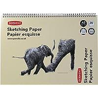 Derwent A3 Landscape Sketch Pad, 30 Sheets, Multicolor