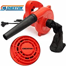 Cheston CHB-20REDVACUUM 600 W Plastic Electric Air Blower Dust PC Cleaner (Red)