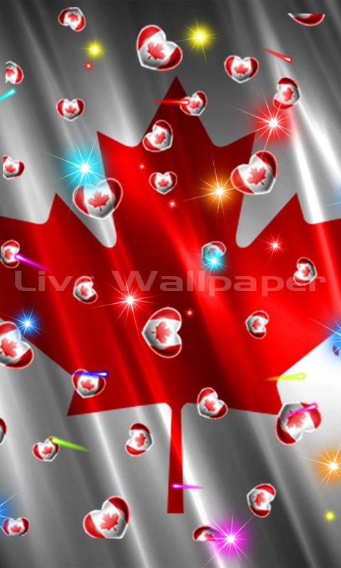 Canada Flag Heart - 4