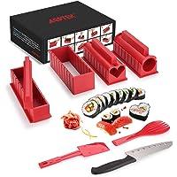 Sushi Maker AGPTEK Appareil et Moules à Sushi Kit de Préparation à Sushi et Maki 11 pièces avec couteau expert pour…