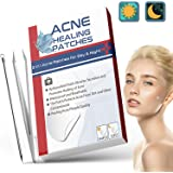 216 stks Acne Patches, Dag & Nacht Gebruik 2 in 1 Acne Absorberende Puistje Patches, Onzichtbare Effectieve Hydrocolloïde Pui