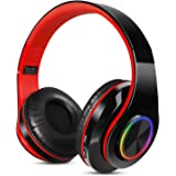Sendowtek Auriculares Inalambricos Diadema con Microfono Cascos Bluetooth Inalámbrico Auriculares Cancelacion de Ruido Alta F