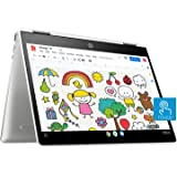 HP Chromebook x360 Intel Celeron N4020 Processor 12-inch Touchscreen Laptop (Celeron N4020/4GB/64GB SSD/Chrome OS/Integrated