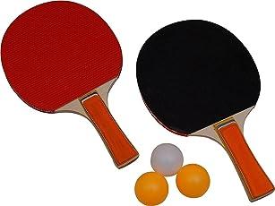 VDNSI Table Tenni Rackets Set 2 (2 TT Rackets & 3 TT Balls)