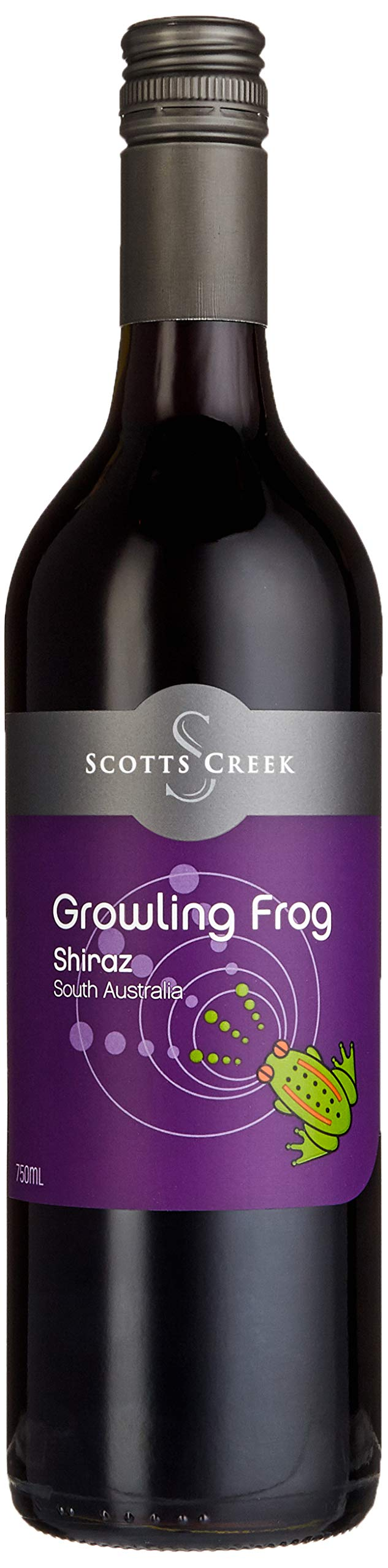 Shiraz-Growling-Frog-Scotts-Creek-2016-trocken-6-x-075l
