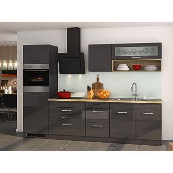 Küchenzeile Küchenblock Einbauküche Küche Küchen-Set Kochnische ...