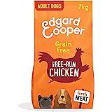 Edgard & Cooper Pienso Perros Adultos Comida Seca Natural Sin Cereales 7kg Pollo Fresco de Granja, Naturalmente fácil de dige