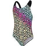 Speedo Girl's Jungleglare Allover Splashback Swimsuit