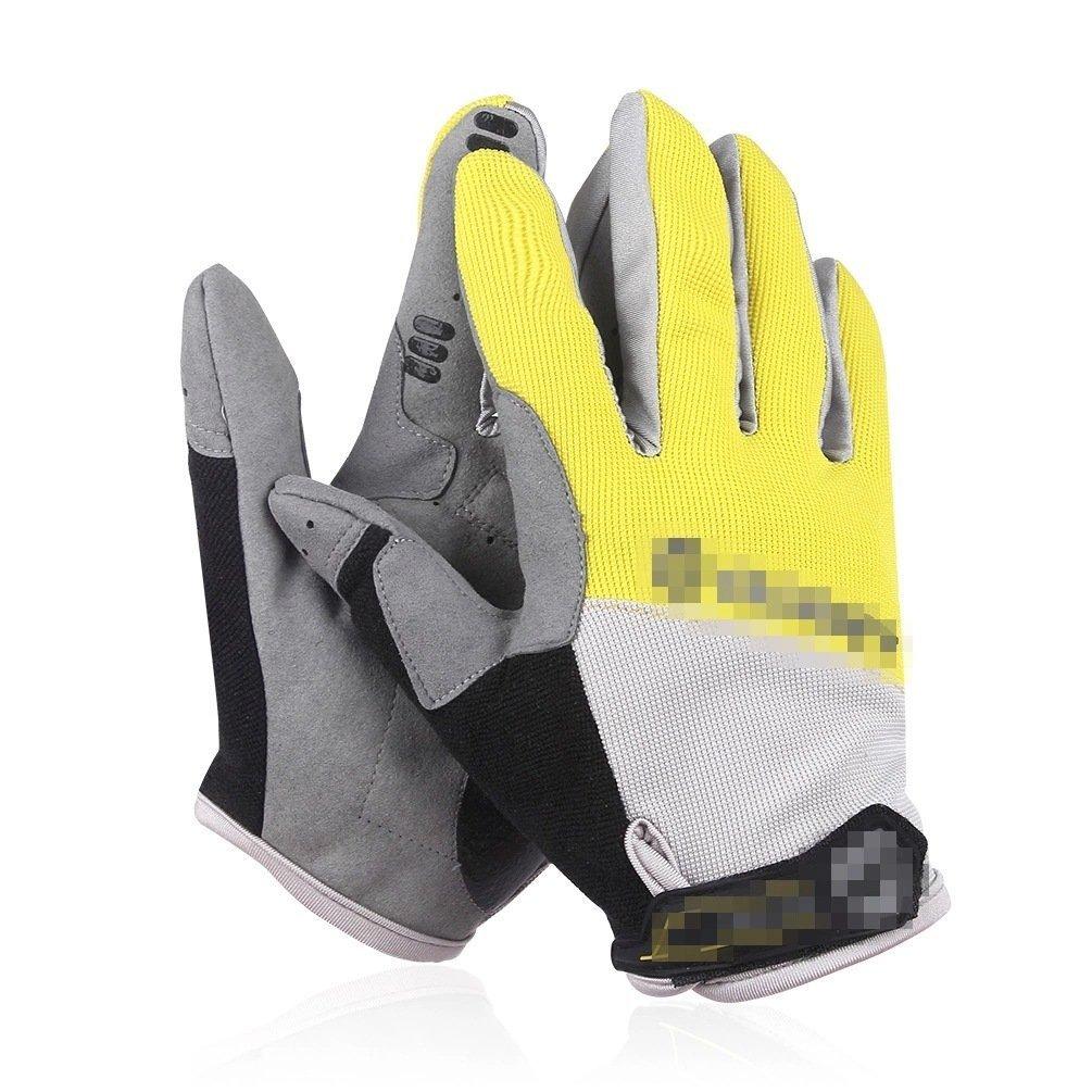 GAYY Biciclette guanti uomo e donna guanti invernali guanti esterni,Tempo Giallo Limitato,L