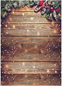 Funnytree 5x7ft Schneeflocke Gold Glitter Weihnachten Kamera