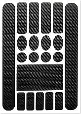haodene Fahrradabziehbild Aufkleber Fahrrad Aufkleber Rahmen Schutz Steinschlagschutz Lackschutz Folie Ketten Streben