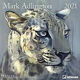Art Calendar - Wildlife 2021 Square Wall Calendar
